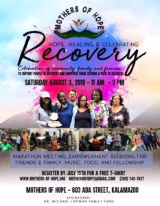 Recovery celebration event